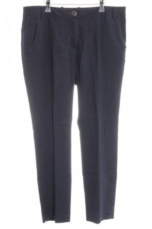 Marc O'Polo Stoffhose blau Business-Look