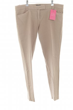 Marc O'Polo Stoffhose nude-creme Allover-Druck Business-Look