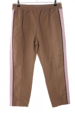 Marc O'Polo Stoffhose pink-braun Business-Look