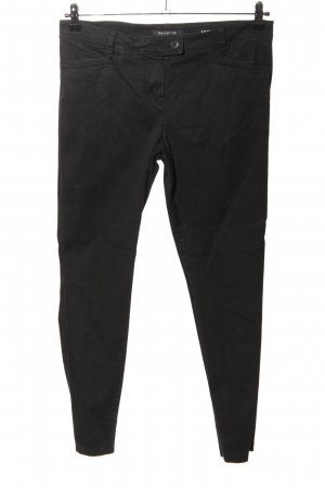 Marc O'Polo Pantalon en jersey noir style décontracté