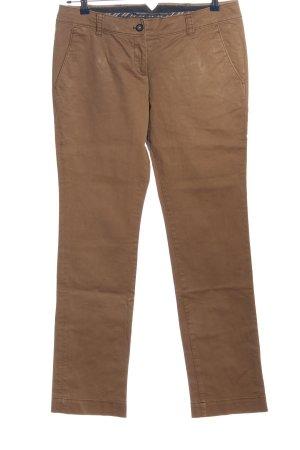 Marc O'Polo Pantalon en jersey brun style décontracté