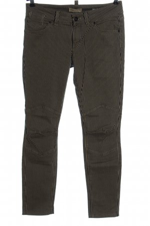 Marc O'Polo Jersey Pants black-natural white striped pattern casual look