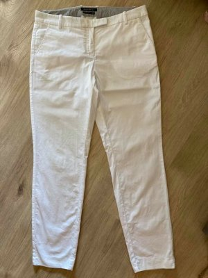 Marc O'Polo Jersey Pants white cotton