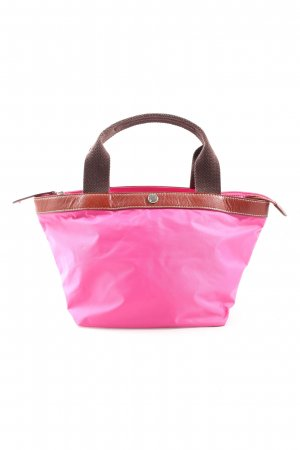 Marc O'Polo Stofftasche pink-braun Casual-Look