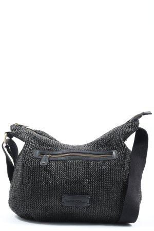 Marc O'Polo Stoffen tas zwart casual uitstraling