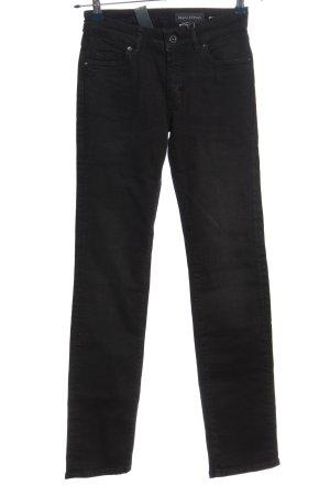 Marc O'Polo Jeansy z prostymi nogawkami czarny W stylu casual