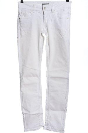 Marc O'Polo Jeansy z prostymi nogawkami biały W stylu casual