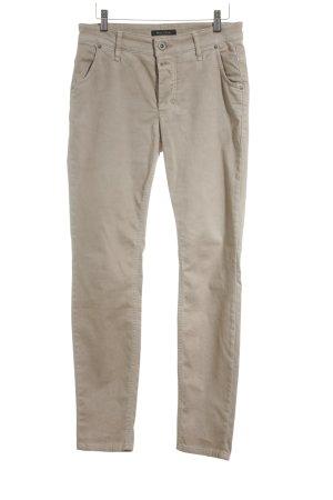 Marc O'Polo Jeansy z prostymi nogawkami kremowy W stylu casual