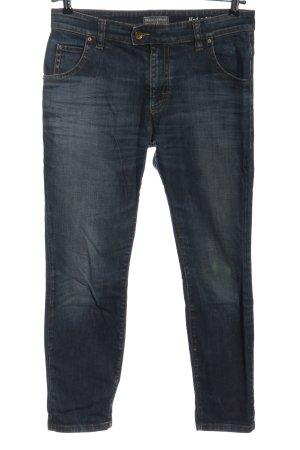 Marc O'Polo Jeans a gamba dritta blu stile casual