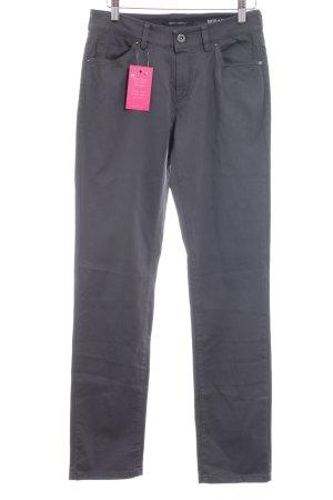 Marc O'Polo Straight-Leg Jeans grau-silberfarben schlichter Stil