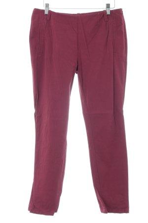 Marc O'Polo Stretchhose purpur Casual-Look Baumwolle