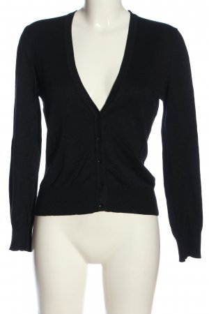 Marc O'Polo Strick Cardigan schwarz Casual-Look