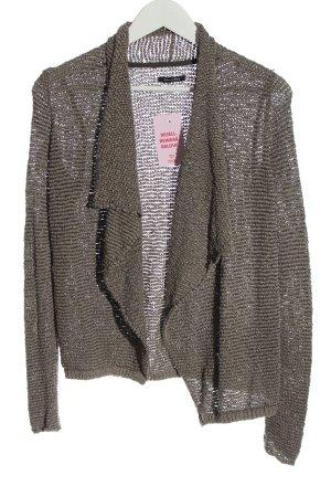 Marc O'Polo Cardigan in maglia grigio chiaro punto treccia stile casual