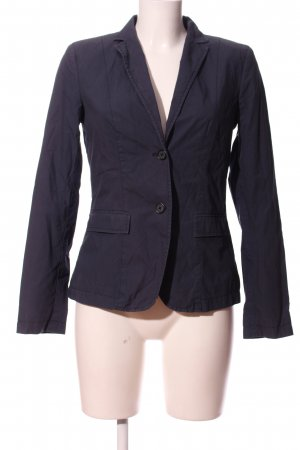 Marc O'Polo Strickblazer blau Business-Look