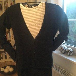 Marc O'Polo Veste en tricot noir coton
