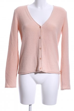 Marc O'Polo Strickjacke pink Casual-Look
