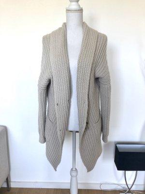 Marc O'Polo Veste tricotée en grosses mailles beige