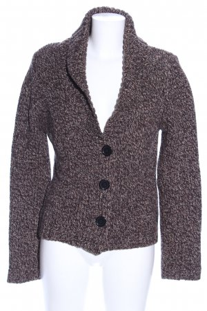 Marc O'Polo Cardigan brown flecked casual look