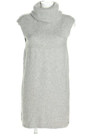 Marc O'Polo Robe en maille tricotées gris clair style décontracté