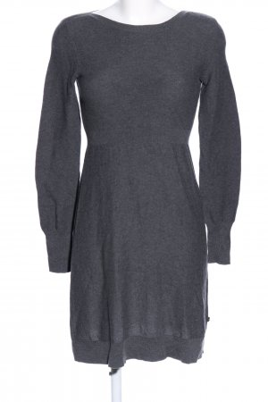 Marc O'Polo Knitted Dress light grey flecked casual look