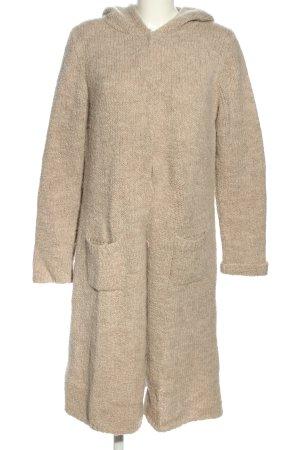 Marc O'Polo Cappotto a maglia crema puntinato stile casual