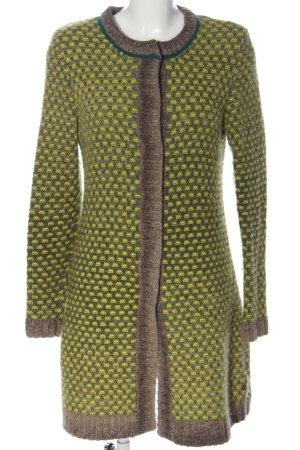 Marc O'Polo Gebreide jas volledige print casual uitstraling