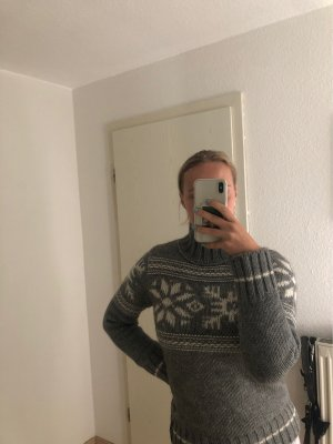 Marc O'Polo Knitted Sweater grey-white