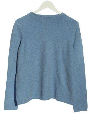 Marc O'Polo Maglione lavorato a maglia blu puntinato stile casual