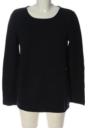 Marc O'Polo Pull tricoté noir style décontracté