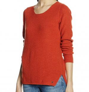 Marc O'Polo Strickpullover orange-rot Gr. M