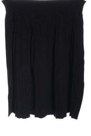 Marc O'Polo Gebreide rok zwart casual uitstraling
