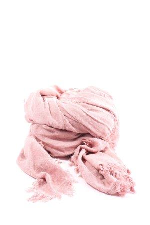 Marc O'Polo Écharpe en tricot rose style décontracté