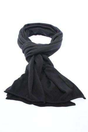 Marc O'Polo Gebreide sjaal zwart casual uitstraling