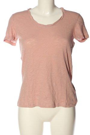 Marc O'Polo Gebreid shirt roze casual uitstraling