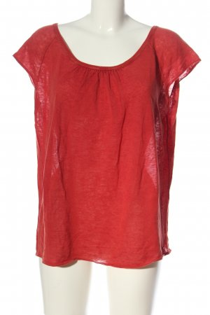 Marc O'Polo Strickshirt rot Casual-Look