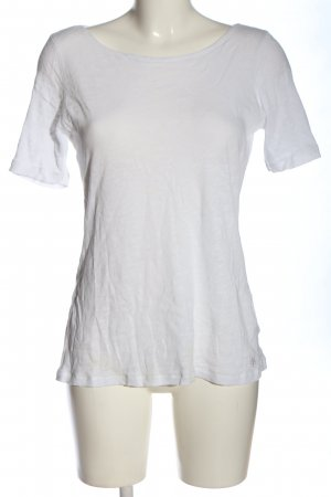 Marc O'Polo Strickshirt weiß Casual-Look