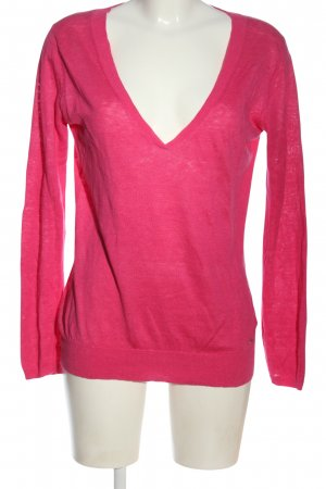 Marc O'Polo Strickshirt pink Casual-Look