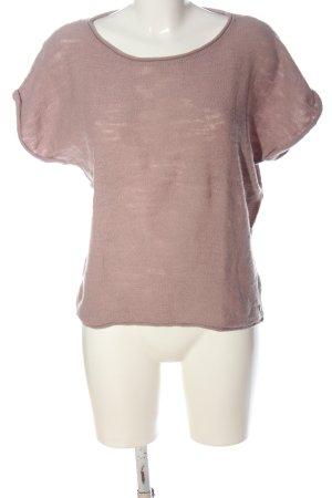 Marc O'Polo Camisa tejida rosa look casual