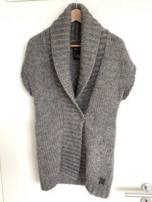 Marc O'Polo Smanicato lavorato a maglia grigio
