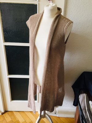 Marc O'Polo Knitted Coat grey brown