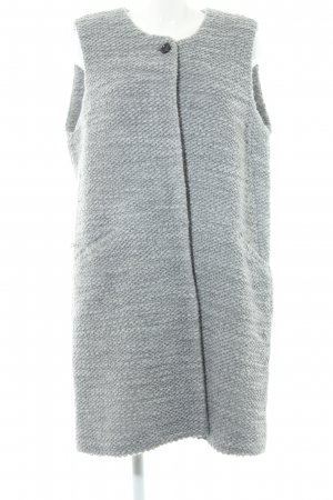 Marc O'Polo Strickweste grau Casual-Look