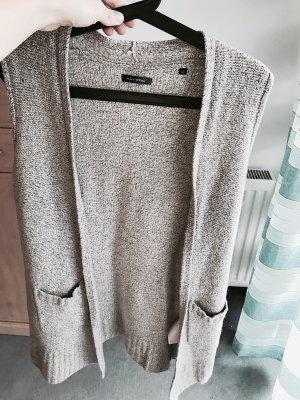 Marc O'Polo Abrigo de punto marrón grisáceo-color plata