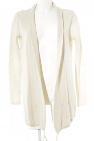 Marc O'Polo Knitted Wrap Cardigan cream casual look