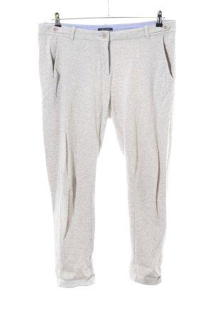 Marc O'Polo Pantalon de jogging gris clair moucheté style décontracté