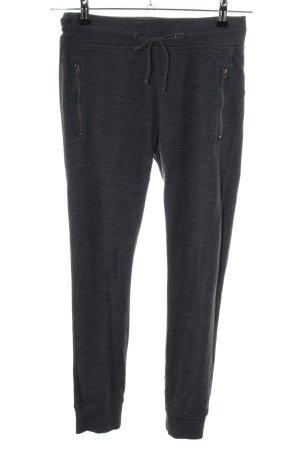 Marc O'Polo Pantalon de jogging noir moucheté style décontracté