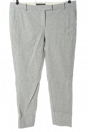Marc O'Polo Stretch Trousers light grey flecked casual look