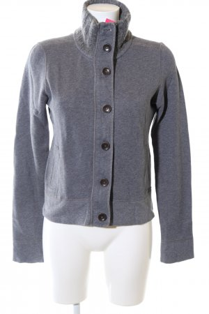 Marc O'Polo Sweatjacke blau meliert Casual-Look