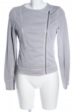 Marc O'Polo Sweatjacke hellgrau Casual-Look
