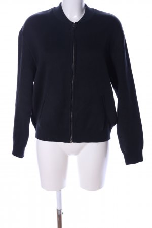 Marc O'Polo Sweatjacke schwarz Casual-Look