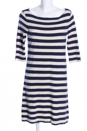 Marc O'Polo Sweat Dress blue-natural white striped pattern casual look